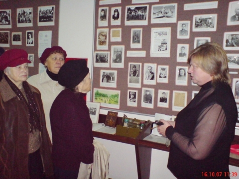 Встречи с ветеранами ВОВ в музее школы.. - Средняя общеобразовательная школа 337