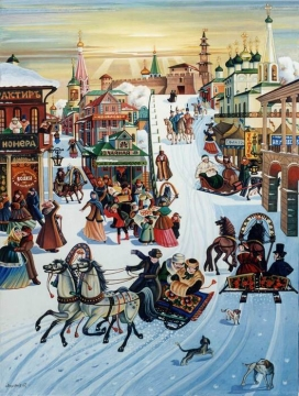 Праздничные гуляния на Масленицу - Таисия Олеговна Кучина