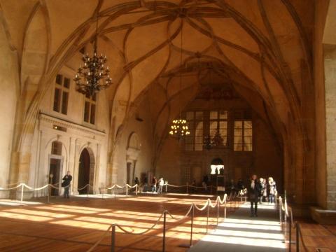 Пражский кремль - готический дворец - Vera Antonovna Juritchkova