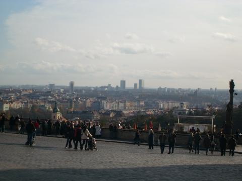 Панорама Праги от кремля - Vera Antonovna Juritchkova