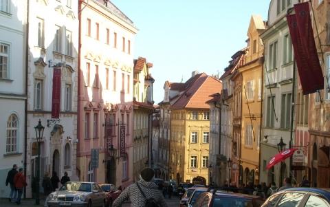 Прага-Ул. Йана Нэруды - Vera Antonovna Juritchkova