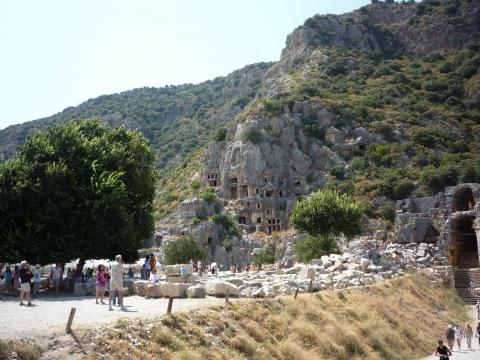 Наскальные могилы древнеликийских царей (Турция) - Венера Джаудатовна Шайхулисламова