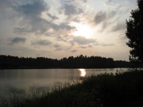 Наше озеро на даче - Светлана Вячеславовна Каганец