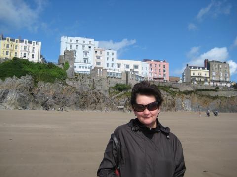 пляж в Уэльсе-холодно! - Валентина Семёновна Комендантова