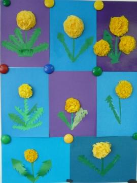 Цветы из салфеток - Елена Владимировна Новикова