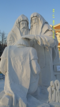 Конкурс ледяных фигур. - Валентина Сергеевна Рябизова