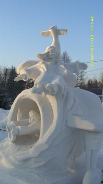 Конкурс ледяных и снежных фигур - Валентина Сергеевна Рябизова