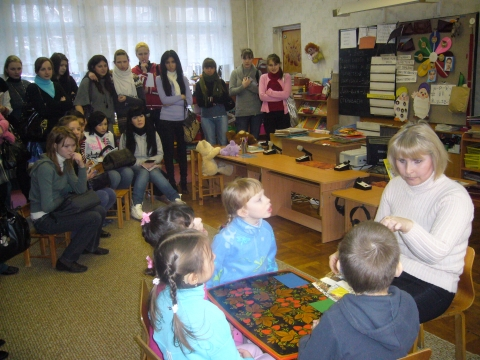 Мелехова М.Г. на занятии по развитию речи - ГБДОУ детский сад №60