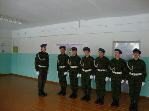 Готовы к смотру - Муниципальное образовательное учреждение Северокоммунарская средняя общеобразовательная школа