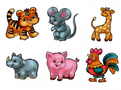 веселые зверята 1 - Воспитатель  детского сада