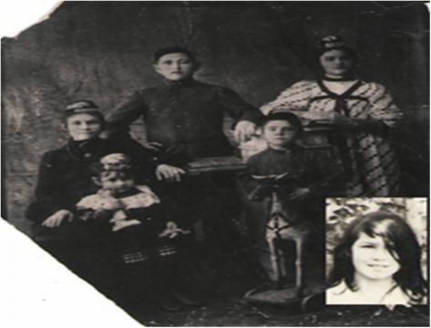 1910г. Моей бабушке 5 лет. - Алла Михайловна Насретдинова