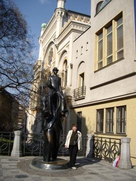 Памятник Ф.Кафке - Отдыхаю!!!
