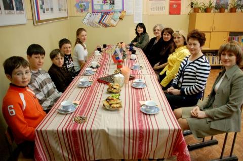 Клуб любителей английского языка встречает американцев - Муниципальное образовательное учреждение средняя общеобразовательная школа № 7 г.Елизова