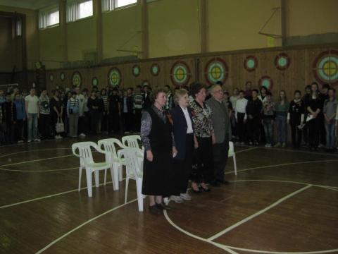 Минута молчания - школа №34