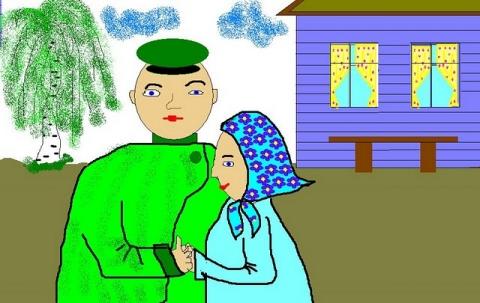 2 место - Муниципальное общеобразовательное учреждение ` Дмитриевская основная общеобразовательная школа`