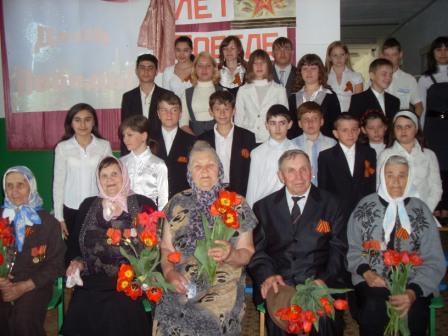 9 мая УРА! - Муниципальное общеобразовательное учреждение ` Дмитриевская основная общеобразовательная школа`