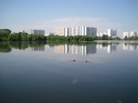 Москва-река. - Отдыхаю!!!