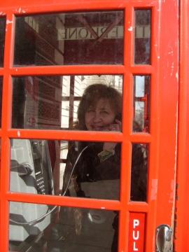 В телефонной будке в Лондоне - Людмила Александровна Чупина