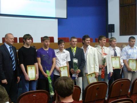 Вручение премии мэра 2010 - Марина Леонидовна Якунина