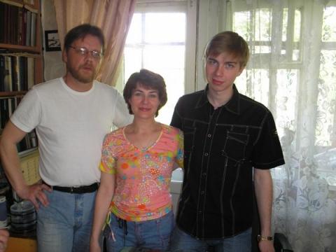 С сыном и мужем - Ольга Павловна Вениаминова