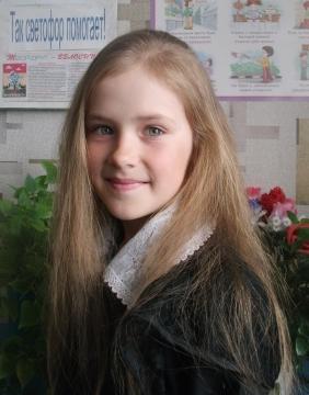 Волосатова Екатерина - самые красивые учащиеся своей школы