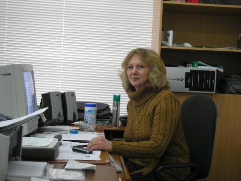 В кабинете информатики - Валентина Леонидовна Каманич