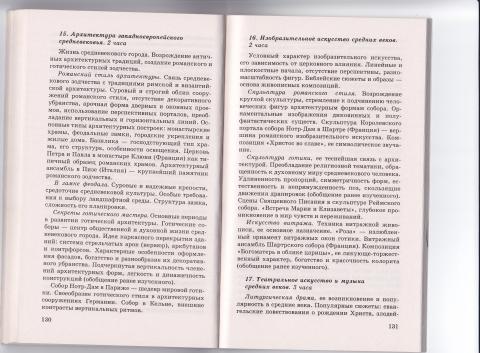 11. Программа. МХК. 10-11 - Людмила Николаевна Игнатова