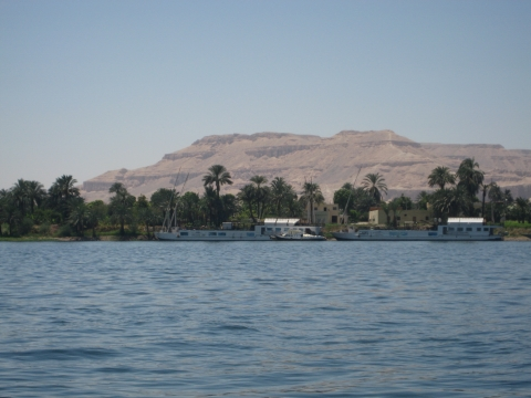 Река Нил, город Луксор. - История 5