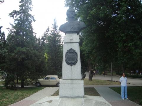 Памятник адмиралу Ушакову - Наталья Вячеславовна Лебедева