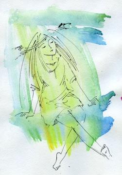 женский портрет - Ангелина Васильевна A.B.M.