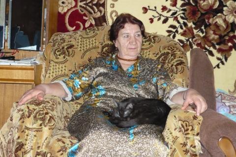 Портрет - Валентина Филипповна Аганина-Верхогляд