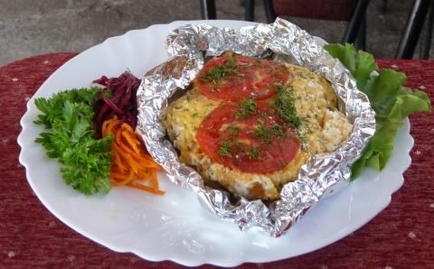 Рецепт мясо по французски в фольге в
