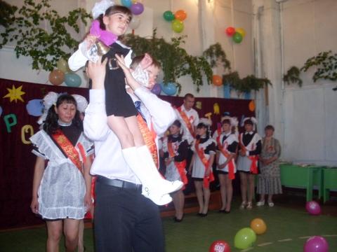 Прощание со школой - Муниципальное общеобразовательное учреждение Усть-Уйская средняя общеобразовательная школа