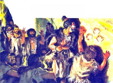 древние художники - История 5