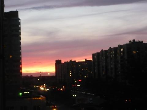 Вечернее небо над городом - Александра Николаевна Литвинова