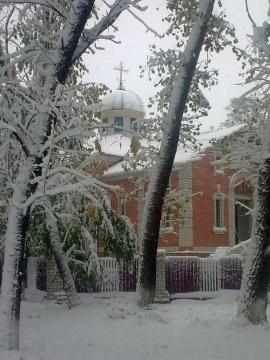 Наша церковь и первый снег - Людмила Васильевна Шаева