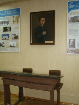 Парта, за которой сидел гимназист Чехов - Людмила Николаевна Игнатова