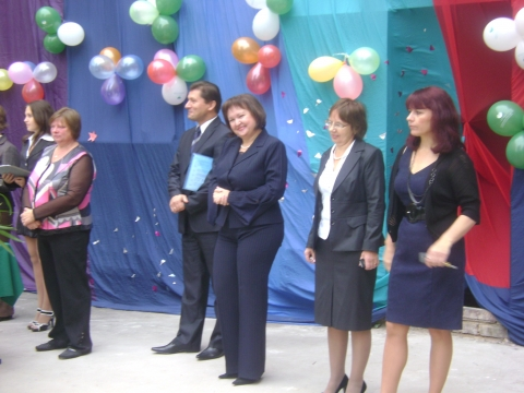 1 сентября 2010 Директор и администрация. - Средняя общеобразовательная школа 337