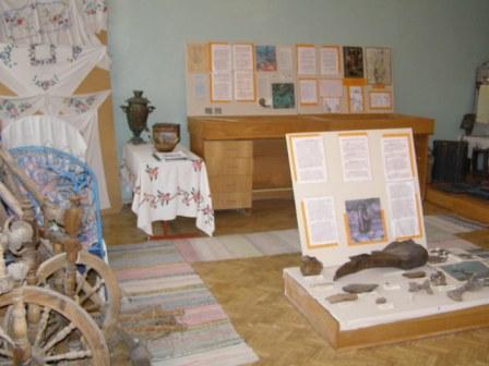 общий вид экспозиции - Муниципальное общеобразовательное учреждение Перовская средняя общеобразовательная школа