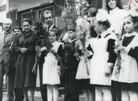 1 сентября 1989 - Средняя общеобразовательная школа 557 www.spb-school557.ru