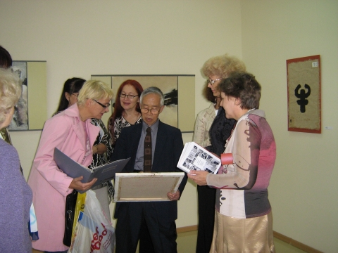 Встреча друзей - Любовь Павловна Белякова