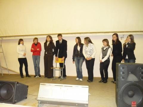 Мы на репетиции - Средняя общеобразовательная школа 557 www.spb-school557.ru