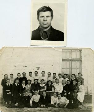 моя  родная   школа  К  Полякова   в   р/ поселке  Н-Кисляй    в  - Валентин Иванович Козодаев