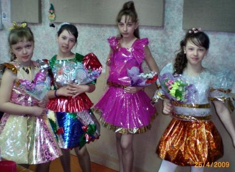 Платье из оберточной бумаги своими руками