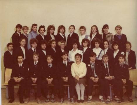 10 а, 1989 год - Средняя общеобразовательная школа 557 www.spb-school557.ru
