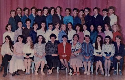 11а, 1993 год - Средняя общеобразовательная школа 557 www.spb-school557.ru