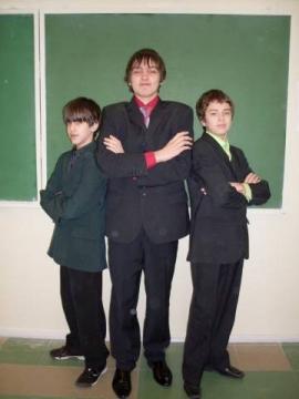 Мальчики 8а - Средняя общеобразовательная школа 557 www.spb-school557.ru