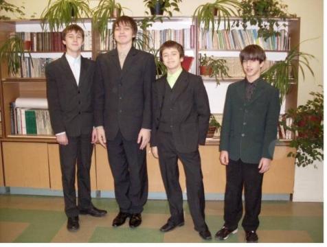 И опять мальчики 8а - Средняя общеобразовательная школа 557 www.spb-school557.ru