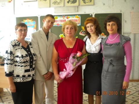 Сын Дима, 11 класс - Вероника Александровна Болтенкова