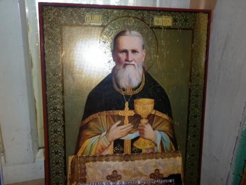 икона Иоанн Кронштадтский - Николай Алексеевич Сухоруков.